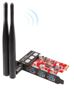Inateck KT9001 3 Ports USB 3.0 Dual Band PCI-E Wireless Adapter