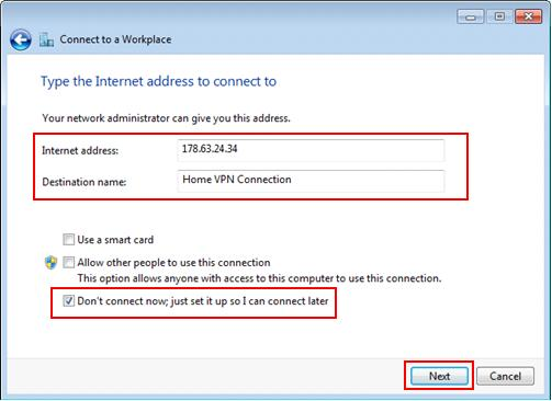 SSTP VPN Setup instructions