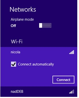 connect to wireless network again