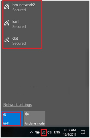 Detect and connect to wifi network