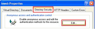 Directory Security