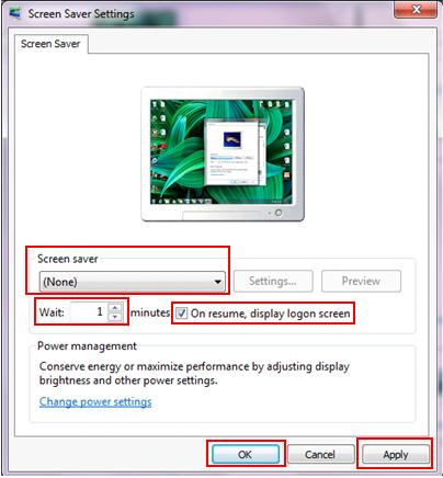 display logon screen to secure desktop