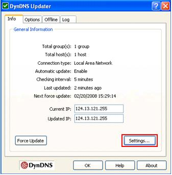 DynDNS com - 2 Easy Ways to Notify the DDNS Servers on IP Change