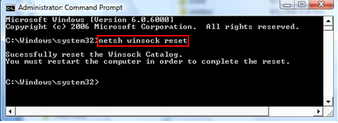 SG :: How to repair TCP/IP and Winsock.