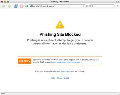 Phishing Site Blocked
