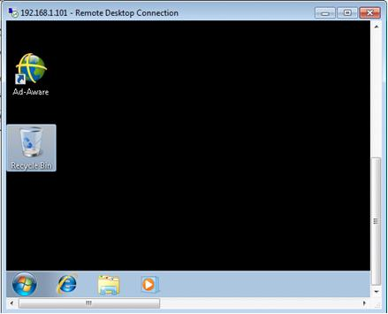 remote desktop connection example