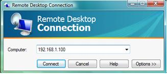 Vista Remote Desktop Client