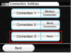 Wii Wireless Internet Settings