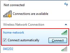 Windows 7 connect to wireless network