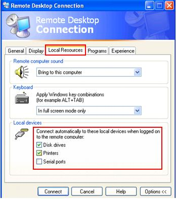 Windows XP SP2 remote desktop sharing