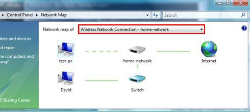 Wireless Network Connection Network Map