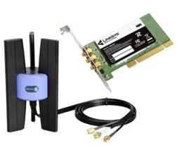 Linksys Wireless-N PCI Wireless Adapter WMP300N