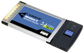 Linksys WPC54G Wireless PCMCIA Card