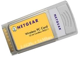 Netgear WG511 Wireless PCMCIA Card