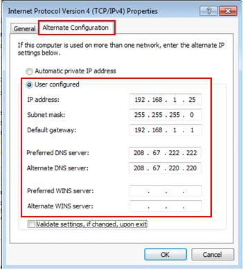 Best option to manually configure speed of nic