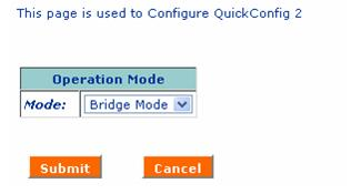 configure DSL modem in bridge mode