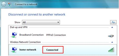 Connected Wireless Network