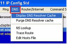 dns nslookup traceroute hosts