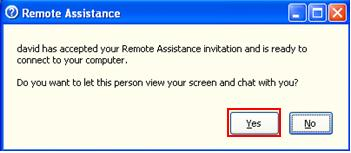 Enable Screen View and Chat for Remote Assistance