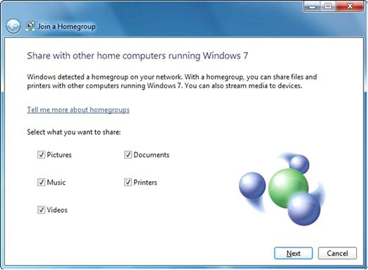 join a homegroup in Windows 7