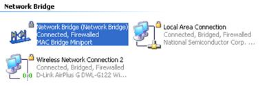 Network Bridge Icon