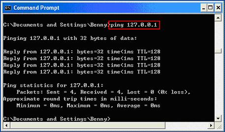 Using Ping to Troubleshoot Network Problem