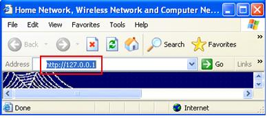 Access localhost, 127.0.0.1 webpage