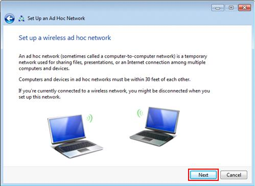 wireless ad hoc network explanation